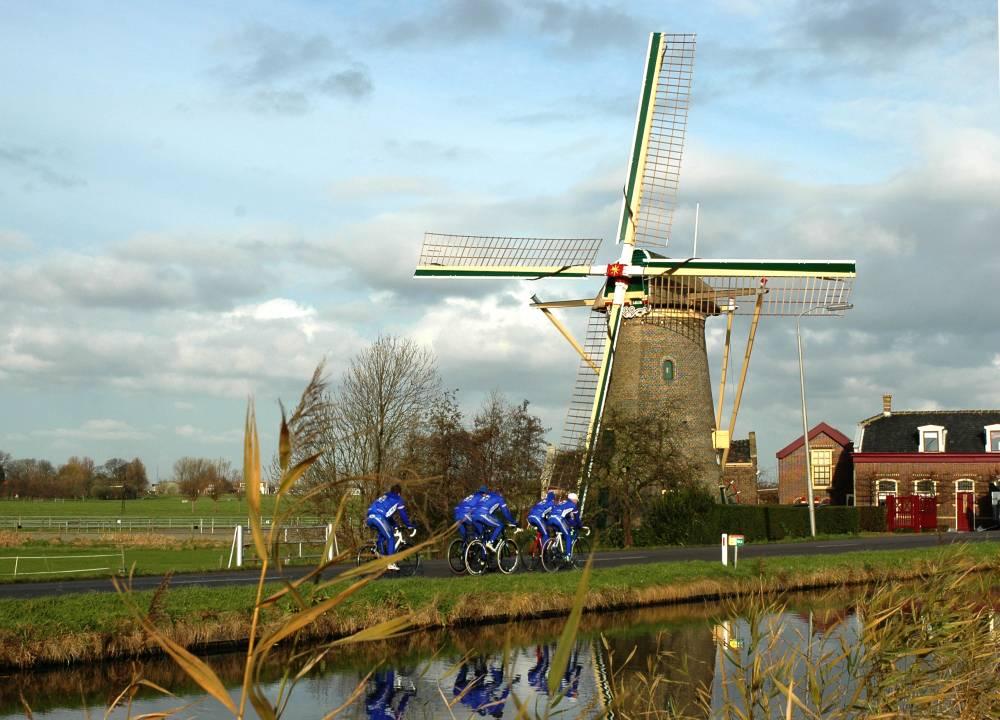 Maasland langs de Gaag de molen