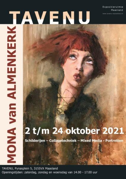 expositie Tavenu Mona van Almenkerk oktober 2021